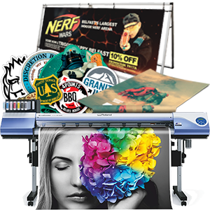 Digital large format printing